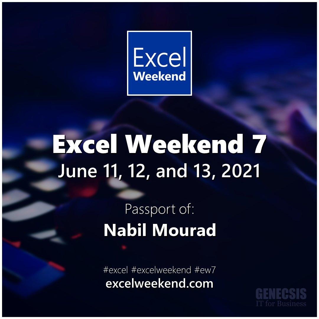 Excel Weekend 7